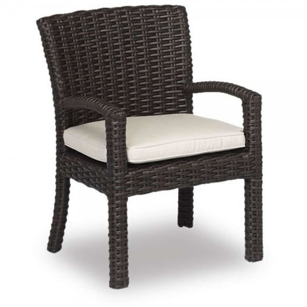 Sunset West Cardiff Wicker Dining Chair - Replacement Cushion