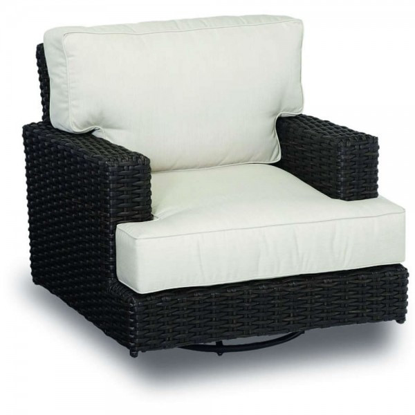 Sunset West Cardiff Wicker Swivel Rocker - Replacement Cushion