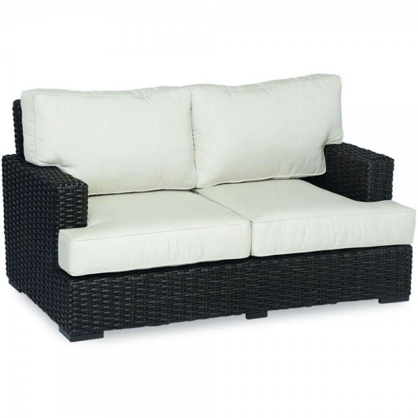 Sunset West Cardiff Wicker Loveseat - Replacement Cushion