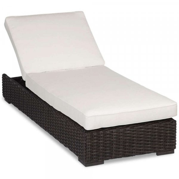 Sunset West Cardiff Adjustable Wicker Chaise Lounge