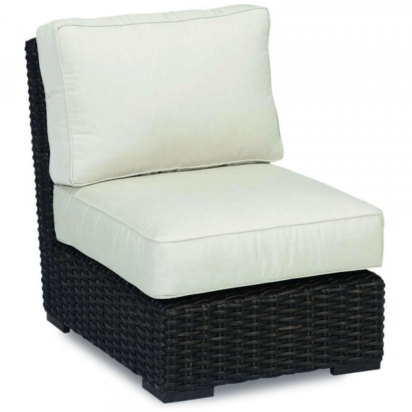 Sunset West Cardiff Armless Wicker Lounge Chair