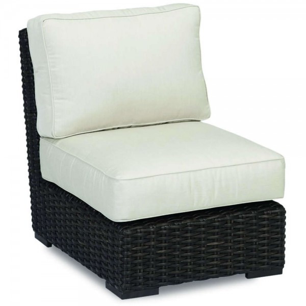 Sunset West Cardiff Armless Wicker Lounge Chair - Replacement Cushion
