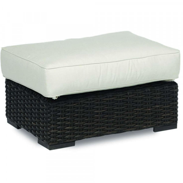 Sunset West Cardiff Wicker Ottoman