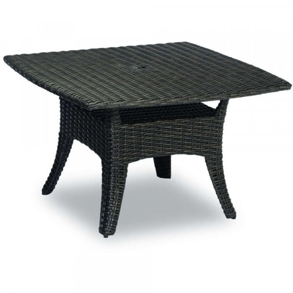 "Sunset West Cardiff 48"" Square Wicker Dining Table"