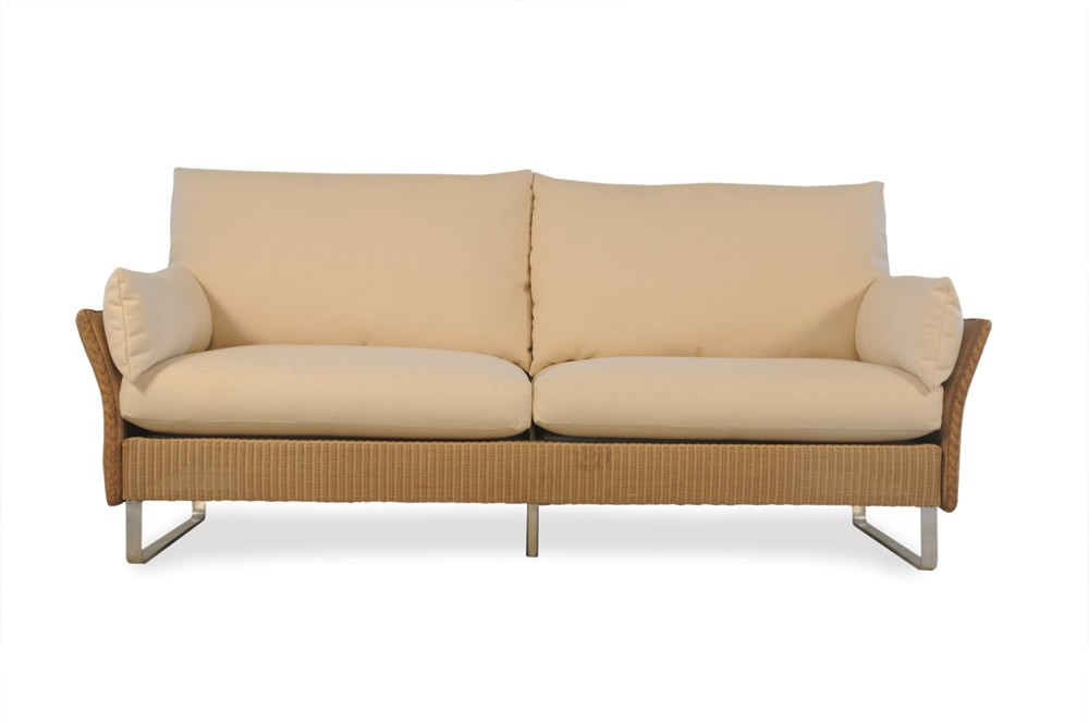 lloyd flanders wicker nova sofa replacement cushion. Black Bedroom Furniture Sets. Home Design Ideas