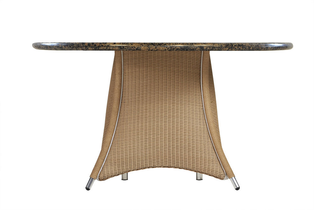 48 round wicker dining table with stone top wicker dining tables