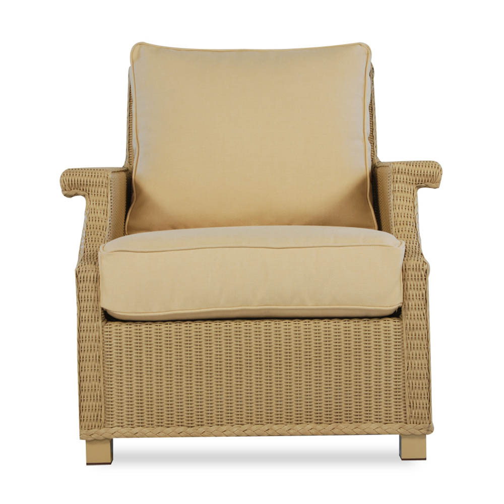 Lloyd Flanders Hamptons Wicker Lounge Chair Replacement