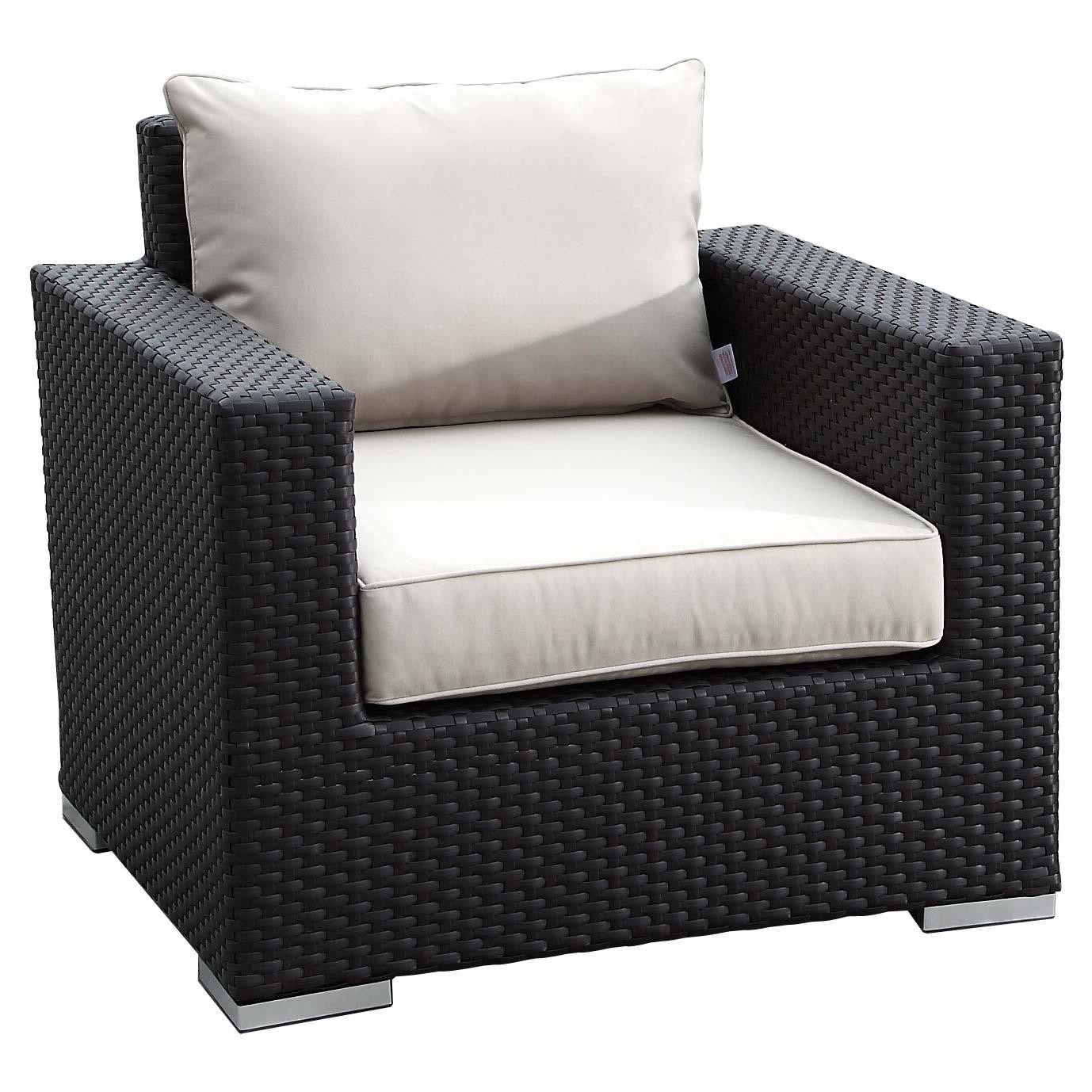 Sunset west solana wicker 6 piece conversation set - Conversation set replacement cushions ...