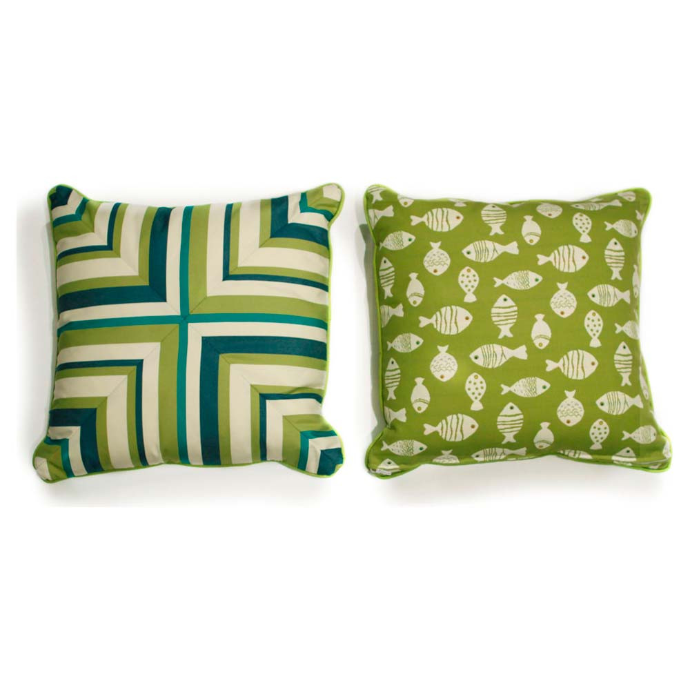 Throw Pillows For Wicker Furniture : South Sea Rattan All Weather Aegean Medium Throw Pillow - WickerCentral.com