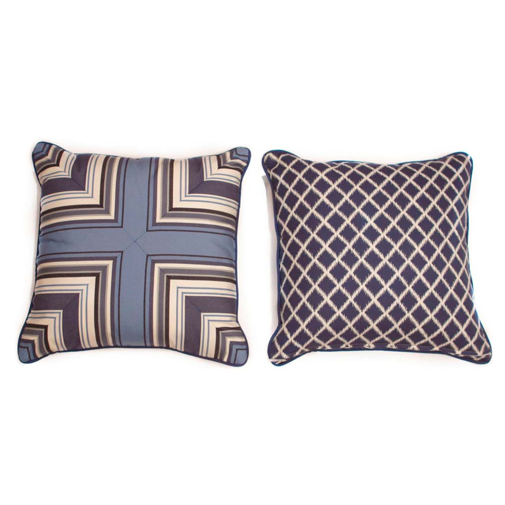 Throw Pillows For Wicker Furniture : South Sea Rattan All Weather Neptune Medium Throw Pillow - WickerCentral.com