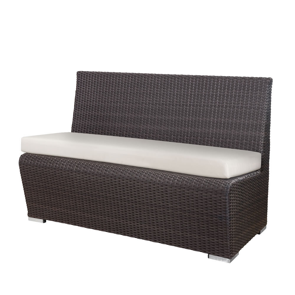 Source Outdoor Boca Wicker Booth Bench Wicker Lounge Chairs Wicker Seating