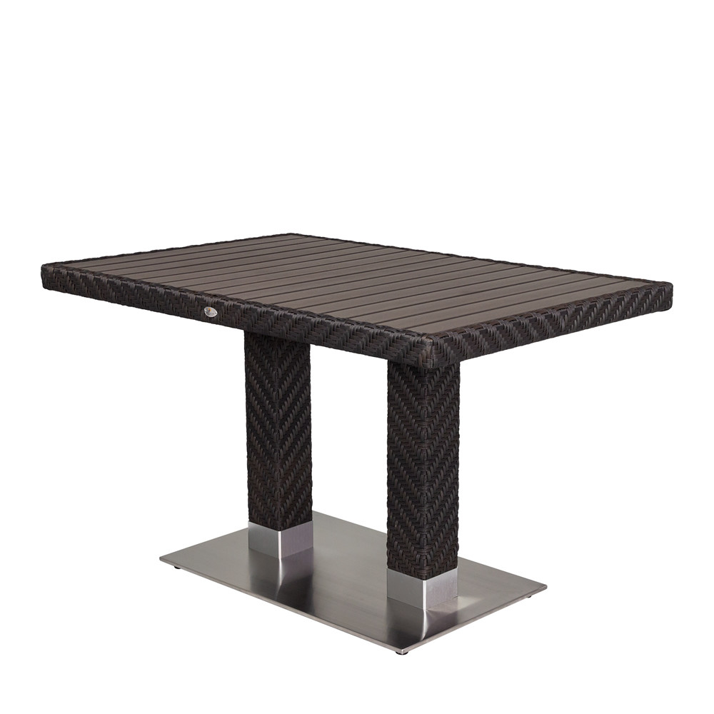 upholstenight lamps for bedroom. Source Outdoor Arizona Rectangular Wicker Dining Table Tables Square  home decor Xshare us