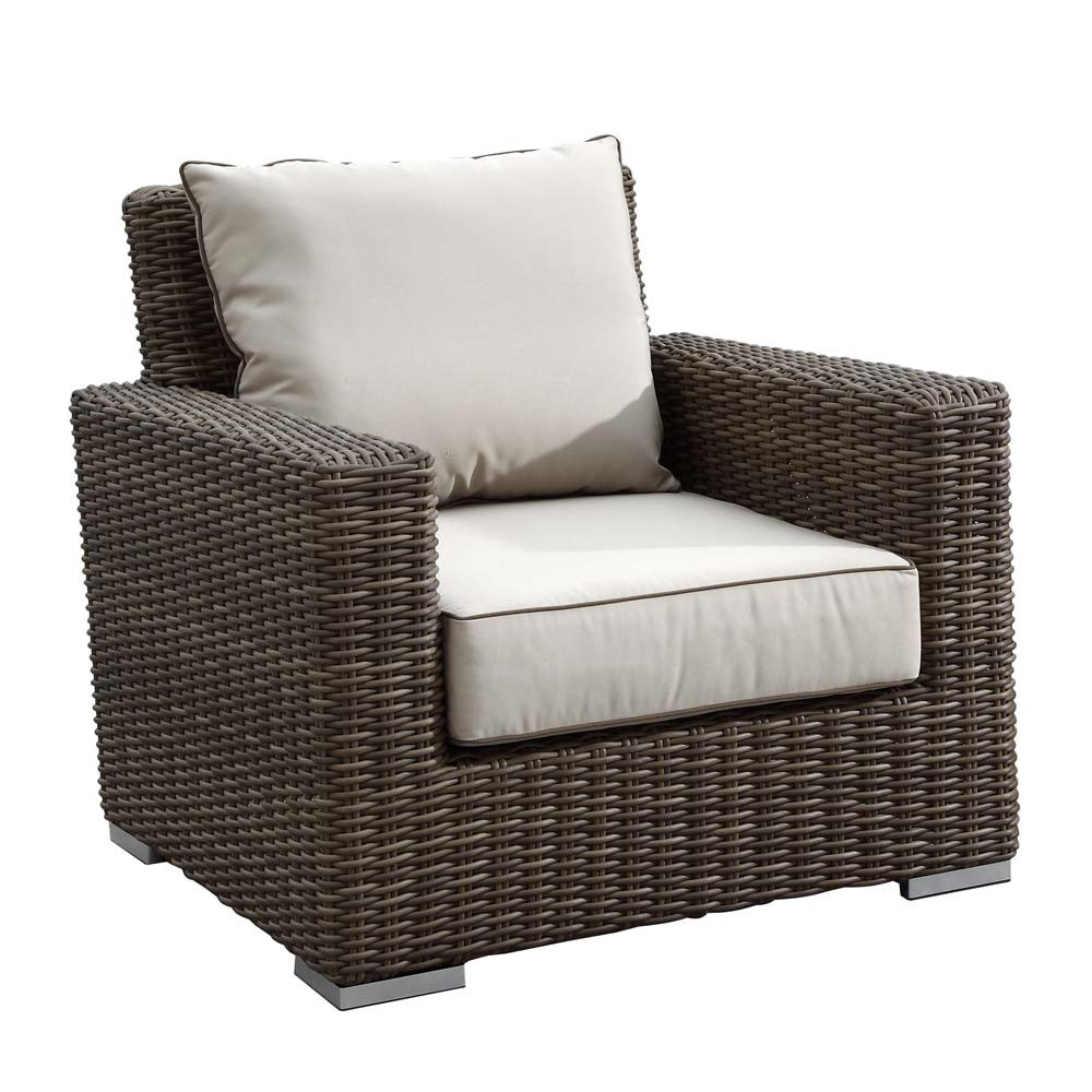 Sunset West Coronado Wicker Lounge Chair - Sunset West Coronado Wicker Club Chair - WickerCentral.com