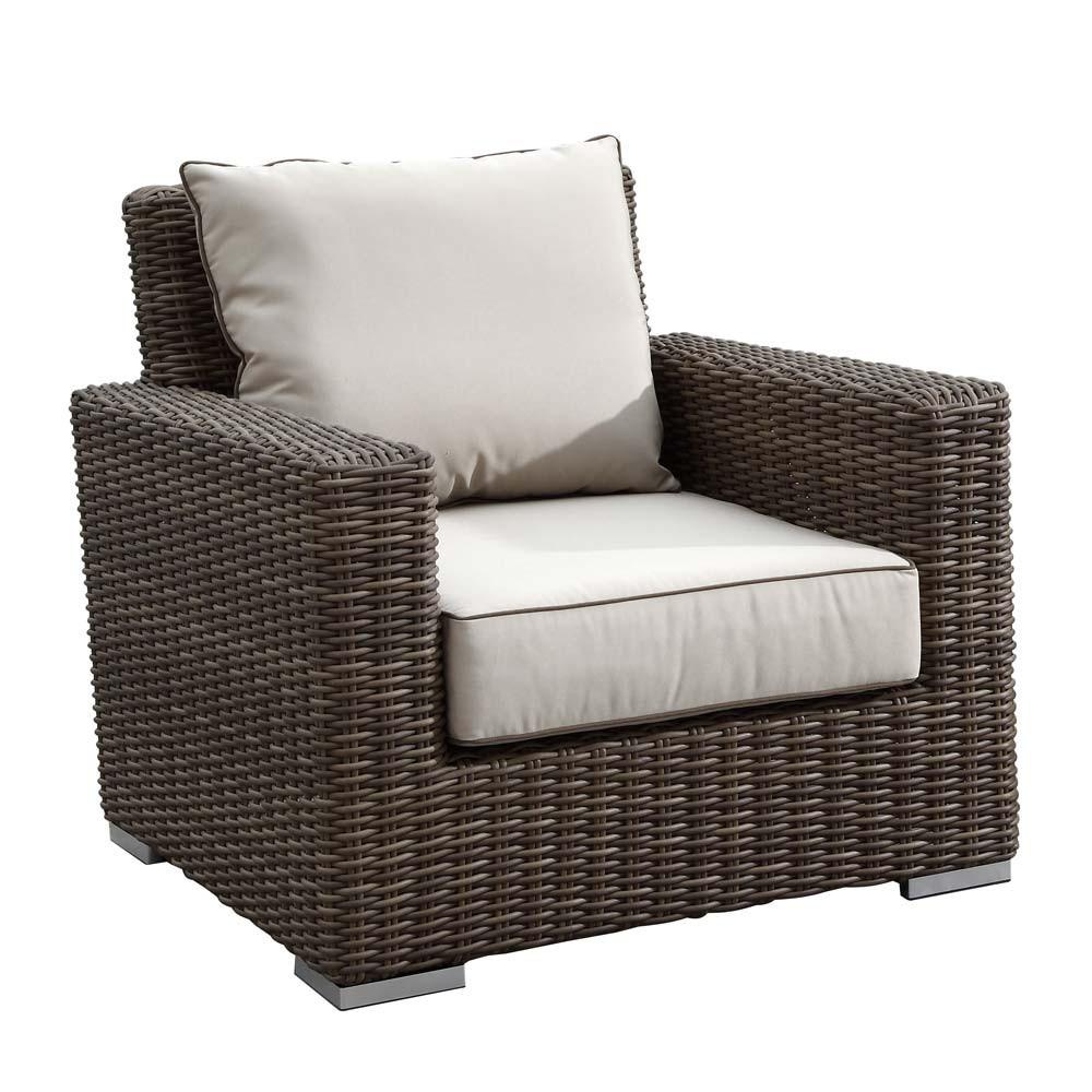 Sunset west coronado 3 piece wicker conversation set - Conversation set replacement cushions ...