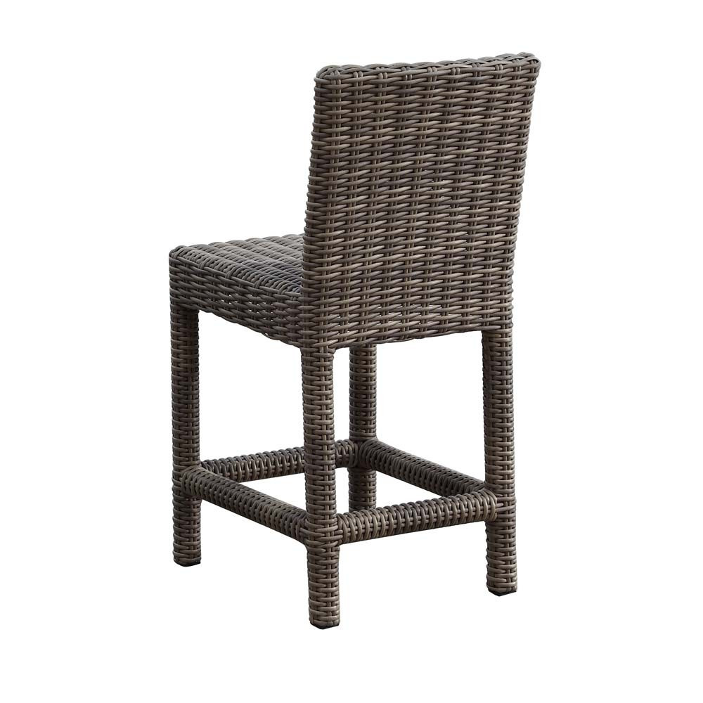 Counter Height Wicker Chairs : ... West Coronado 3-Piece Wicker Counter Height Set - WickerCentral.com