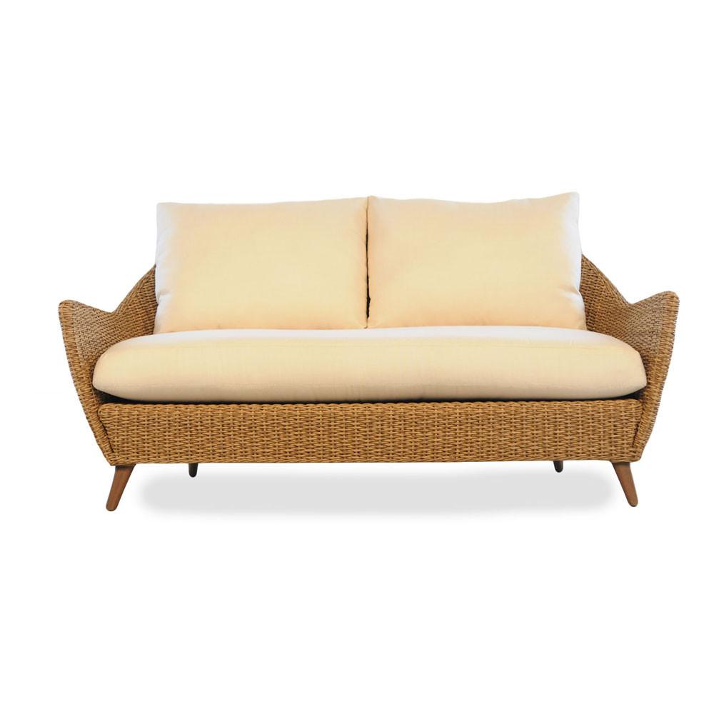 Lloyd flanders tobago 4 piece conversation set - Conversation set replacement cushions ...