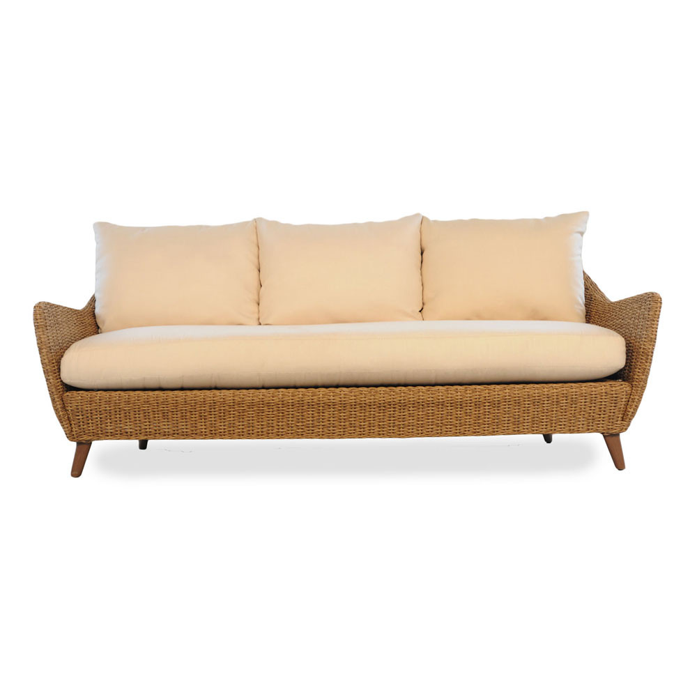 Lloyd Flanders Tobago Wicker Sofa Replacement Cushion