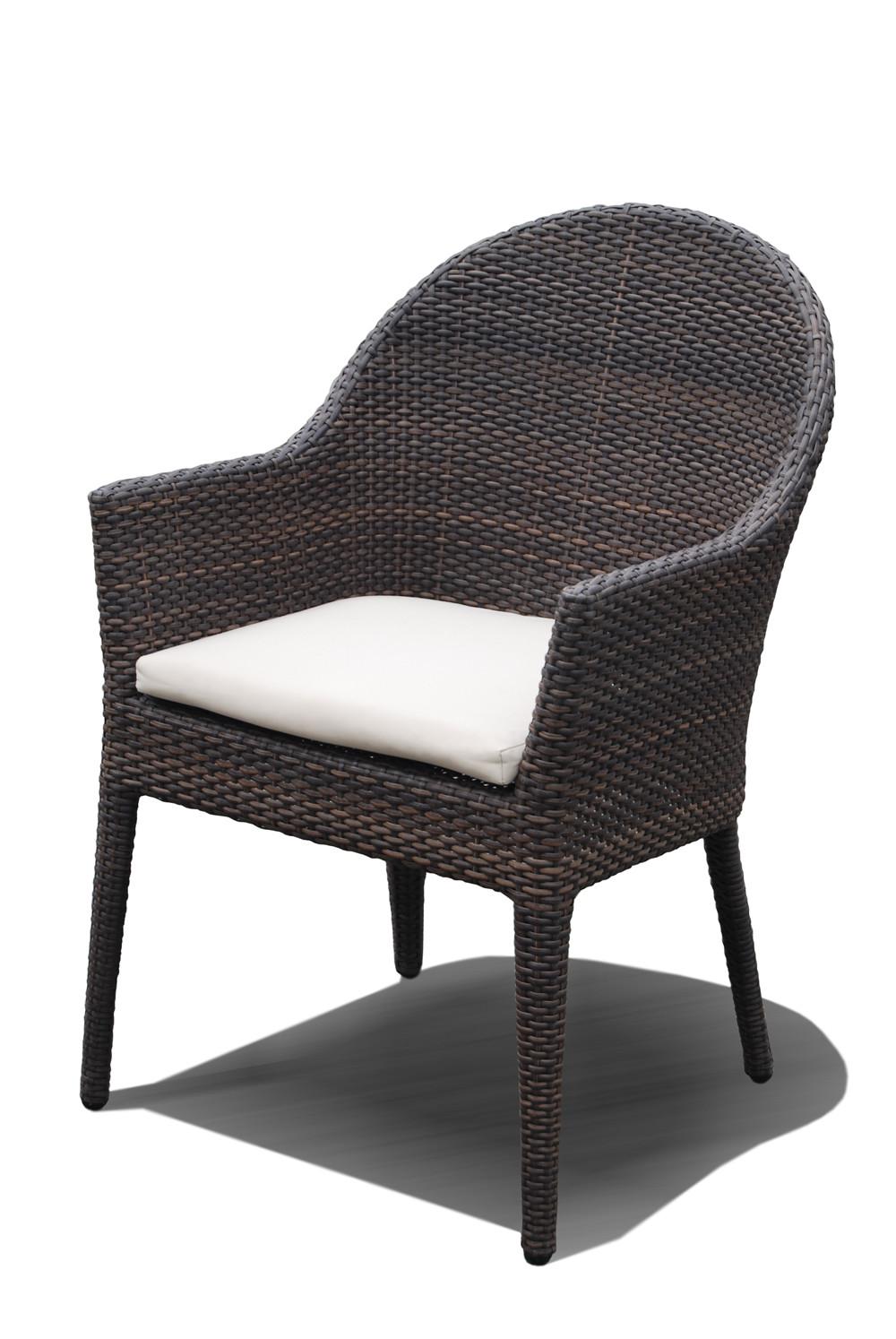 Hospitality rattan kenya wicker dining chair