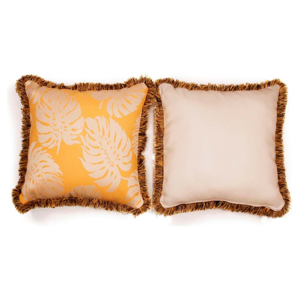 South Sea Rattan All Weather Sunshine Large Throw Pillow - WickerCentral.com