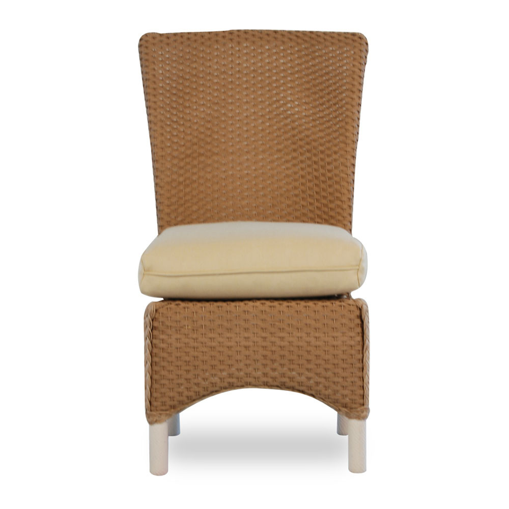 lloyd flanders mandalay wicker dining chair. Black Bedroom Furniture Sets. Home Design Ideas