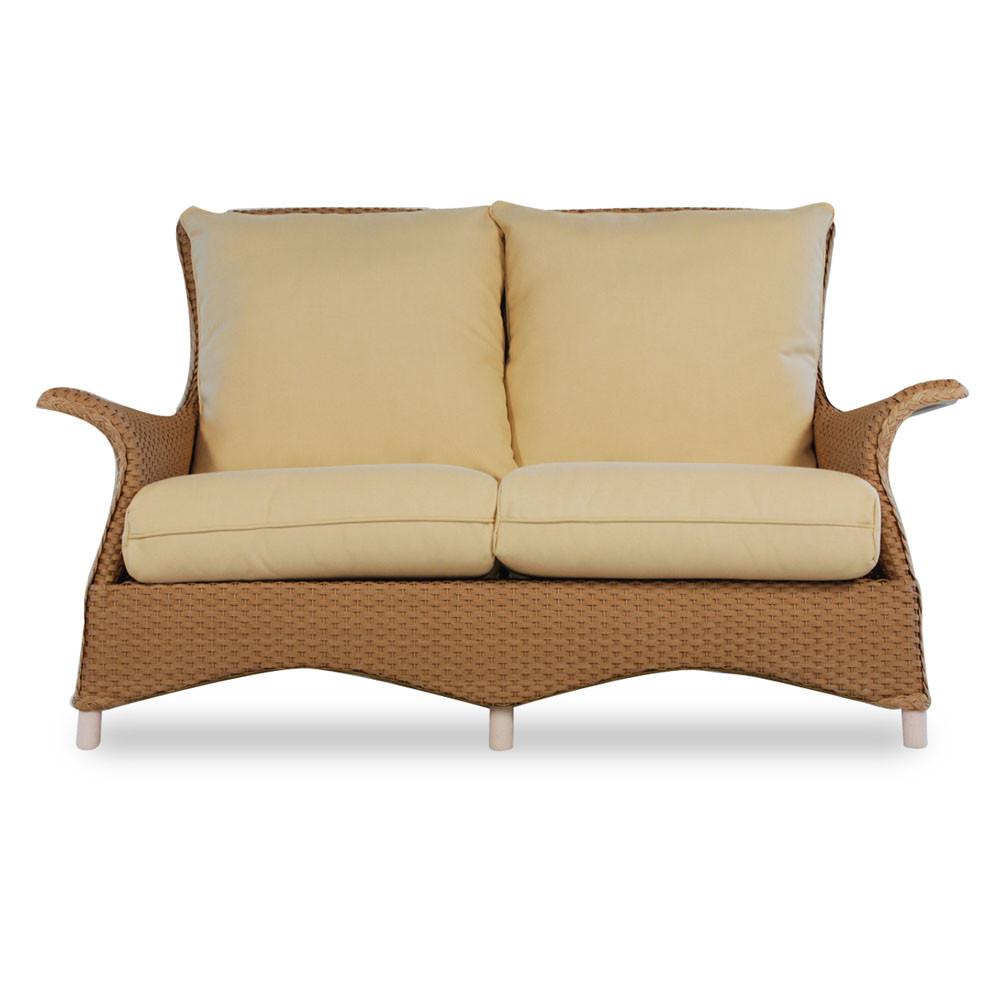 Lloyd Flanders Mandalay Wicker Love Seat Replacement Cushion