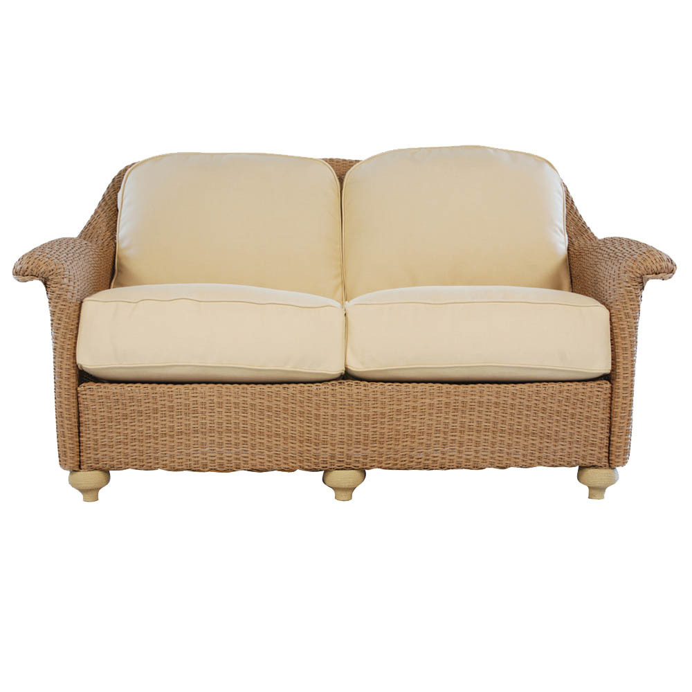 Lloyd Flanders Oxford Wicker Love Seat Replacement Cushion