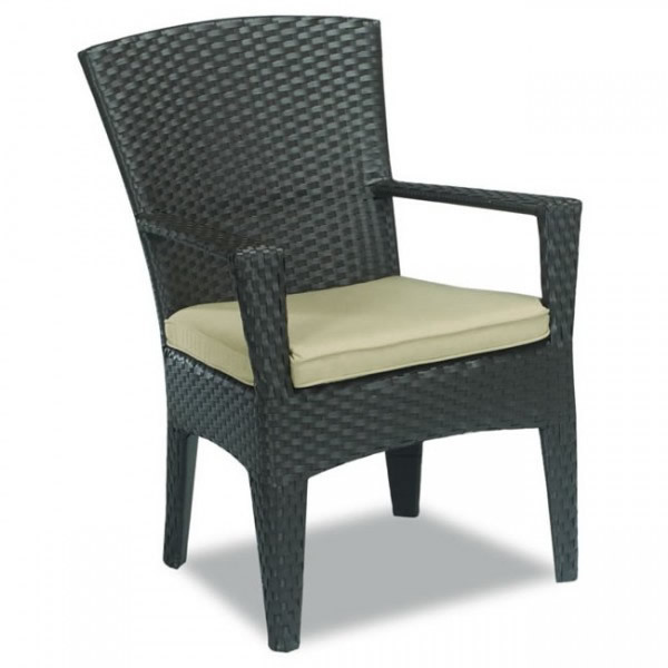 Sunset West Malibu Wicker Dining Chair Replacement Cushion