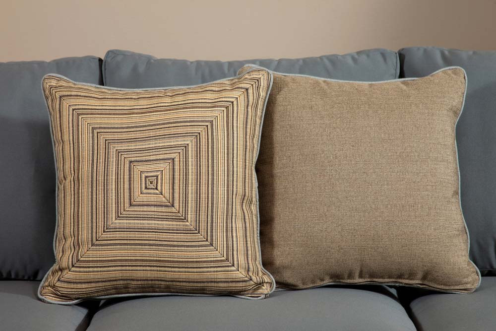 Throw Pillows For Wicker Furniture : South Sea Rattan All Weather Aura Medium Throw Pillow - WickerCentral.com