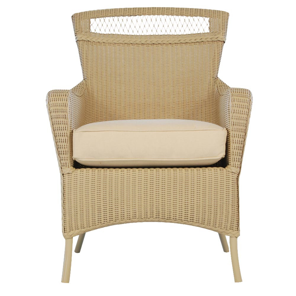 lloyd flanders wicker dining chair. Black Bedroom Furniture Sets. Home Design Ideas