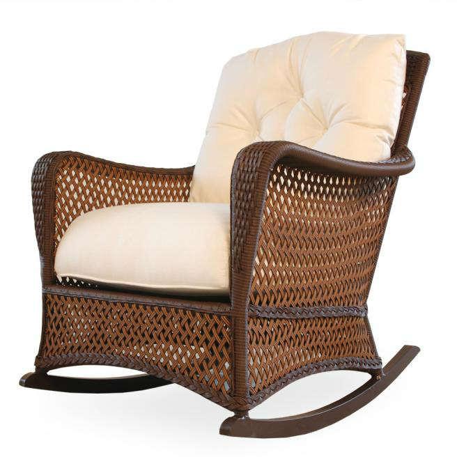 Lloyd Flanders Grand Traverse Wicker Rocking Chair