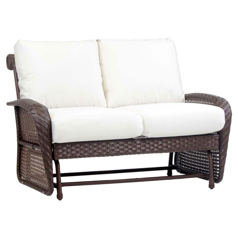 South Sea Rattan Martinique Wicker Double Glider