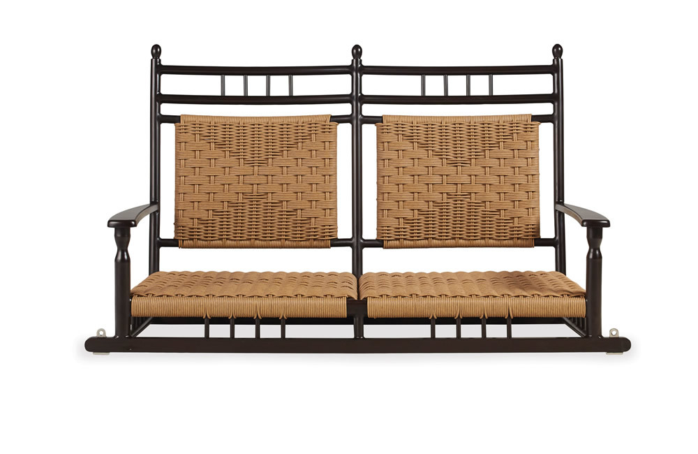 Lloyd Flanders Low Country Wicker Porch Swing Wicker