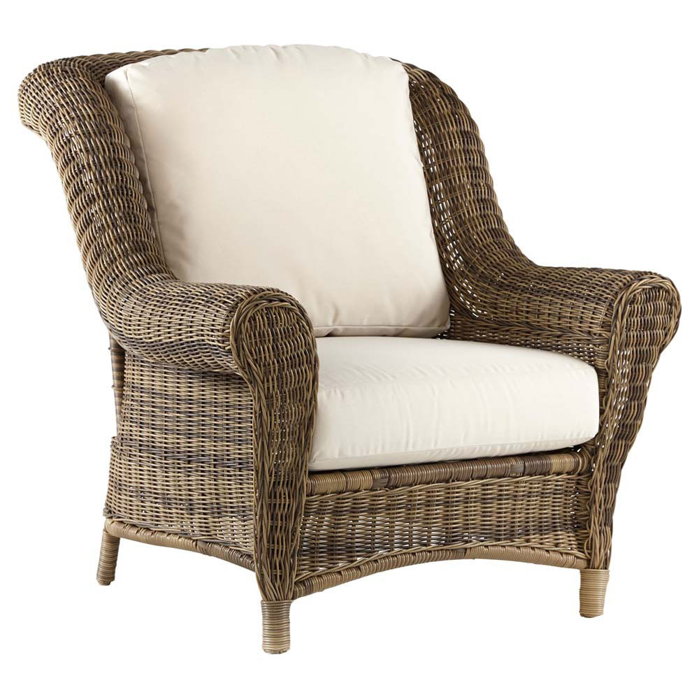 South Sea Rattan Provence Wicker Chair