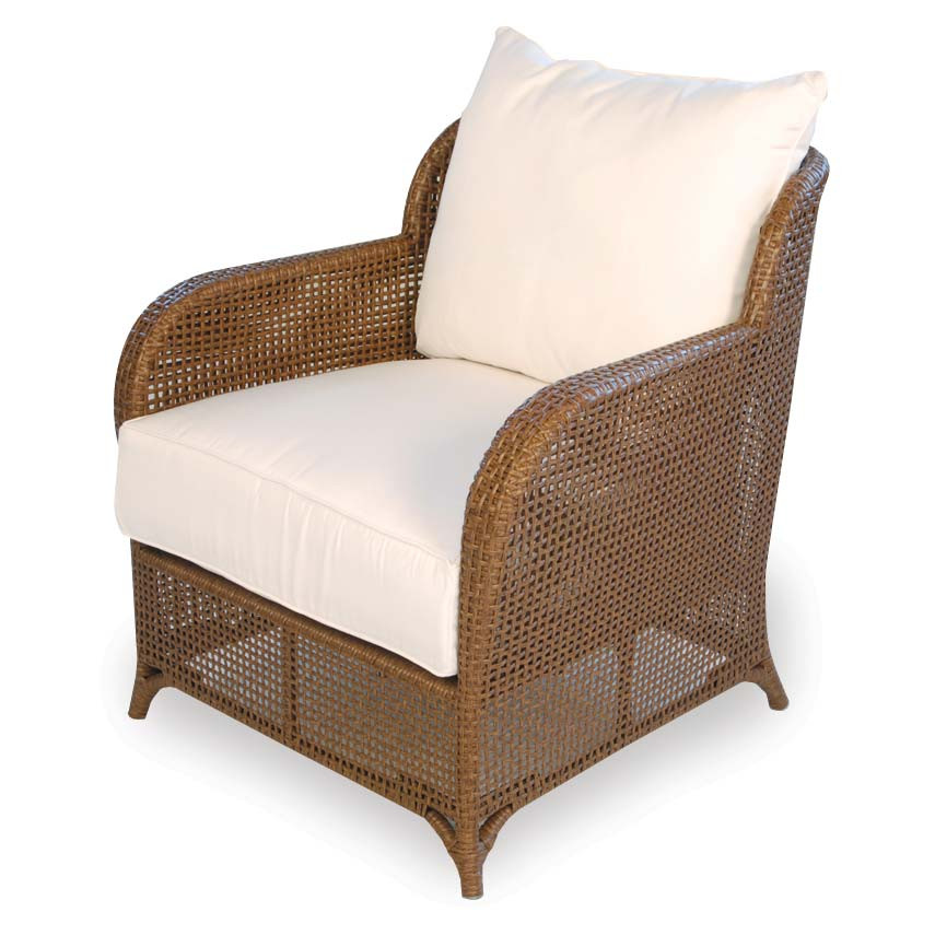 Lloyd flanders carmel wicker lounge chair replacement for Wicker furniture