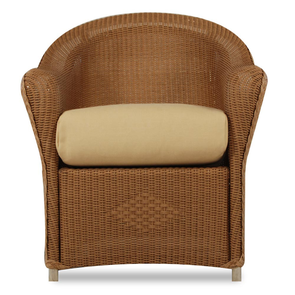 Lloyd Flanders Reflections Wicker Dining Chair Replacement Cushion Wicker