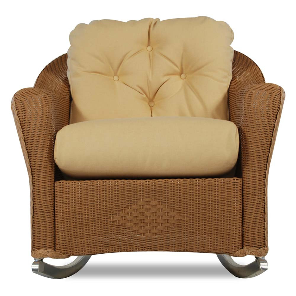 Lloyd Flanders Reflections Wicker Deep Seating Rocking Chair   SPECIAL  OPPORTUNITY BUY
