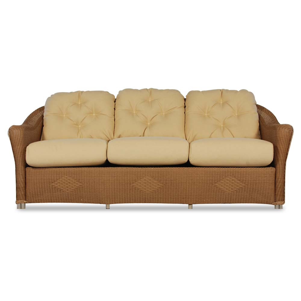 Lloyd Flanders Reflections Wicker Sofa Special Opportunity Buy
