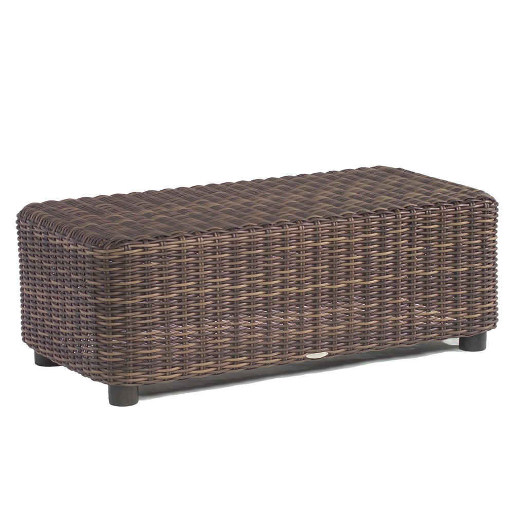 Whitecraft by woodard sonoma wicker cocktail table White wicker coffee table