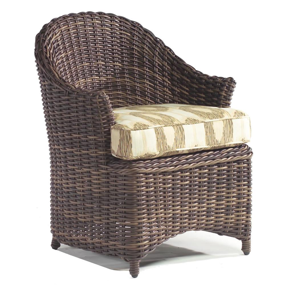 WhiteCraft By Woodard Sonoma Wicker Dining Chair