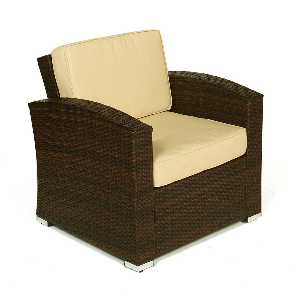 Thy hom bahia 4 piece wicker coversation set 4 5 for Hom furniture inc