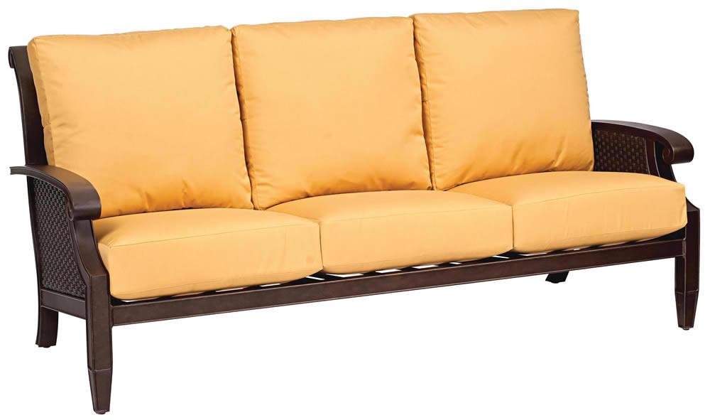 Whitecraft By Woodard Del Cristo Wicker Sofa Replacement Cushion Whitecraft By Woodard