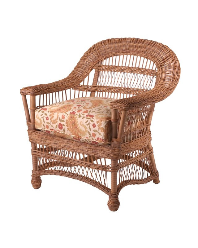Replacement Cushion Whitecraft By Woodard Cottage Wicker Dining Chair Wic