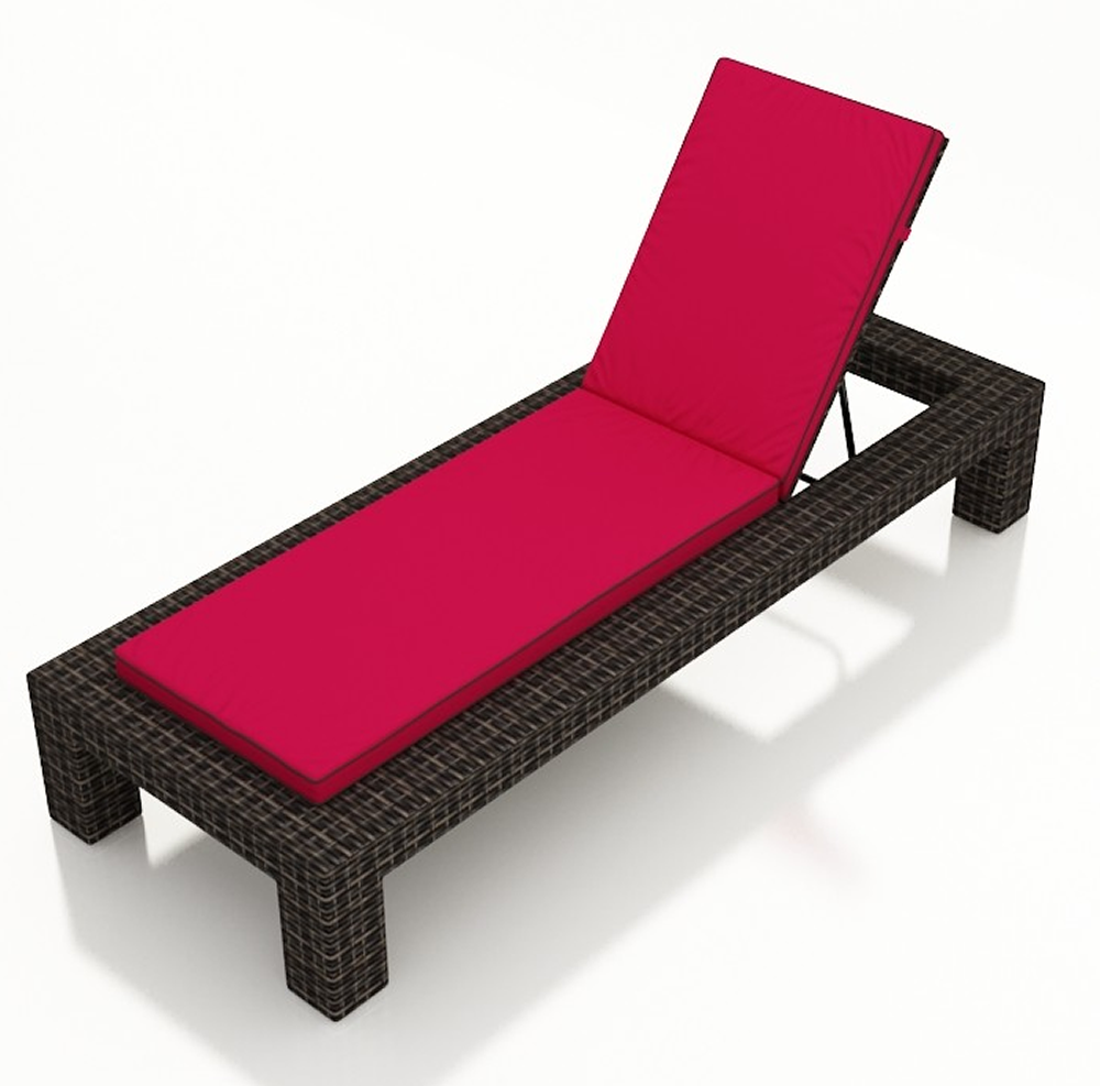 forever patio capistrano single adjustable chaise lounge replacement cushion. Black Bedroom Furniture Sets. Home Design Ideas