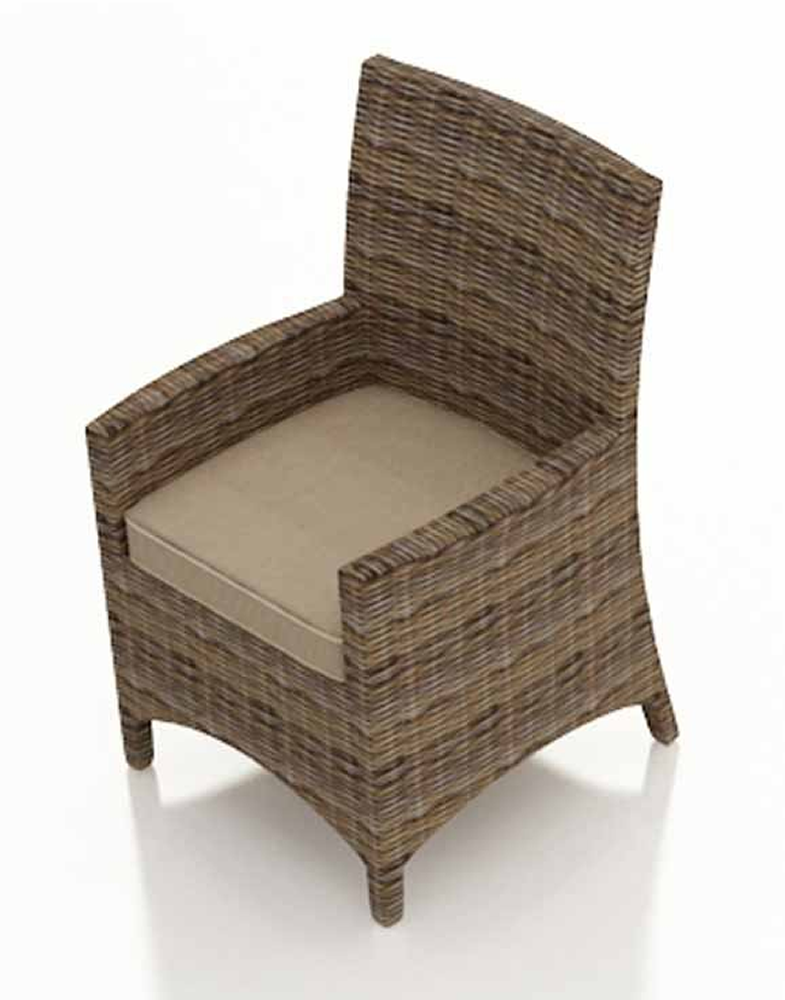 Replacement Patio Chair Slings For Hampton Bay: Forever Patio Cypress Wicker Dining Armchair