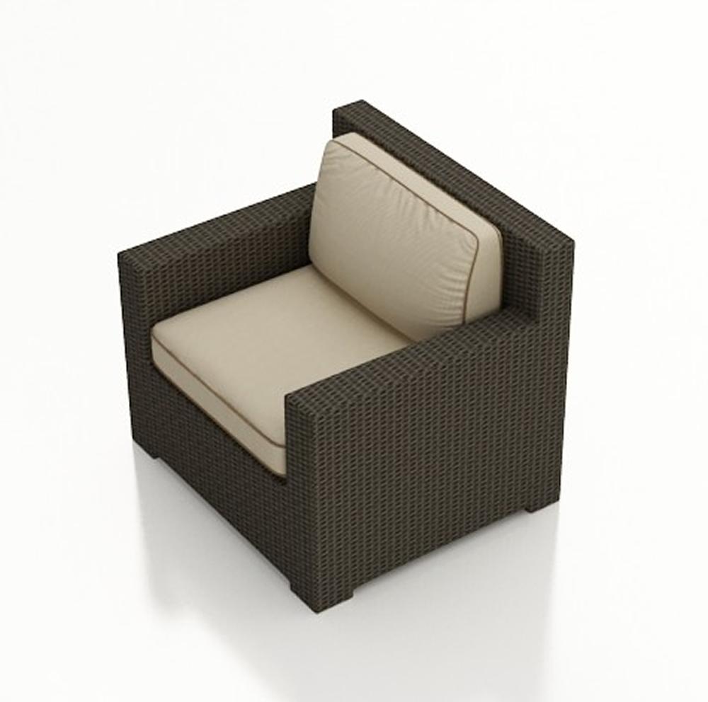 Forever patio hampton wicker club chair replacement - Replacement cushions for wicker patio furniture ...
