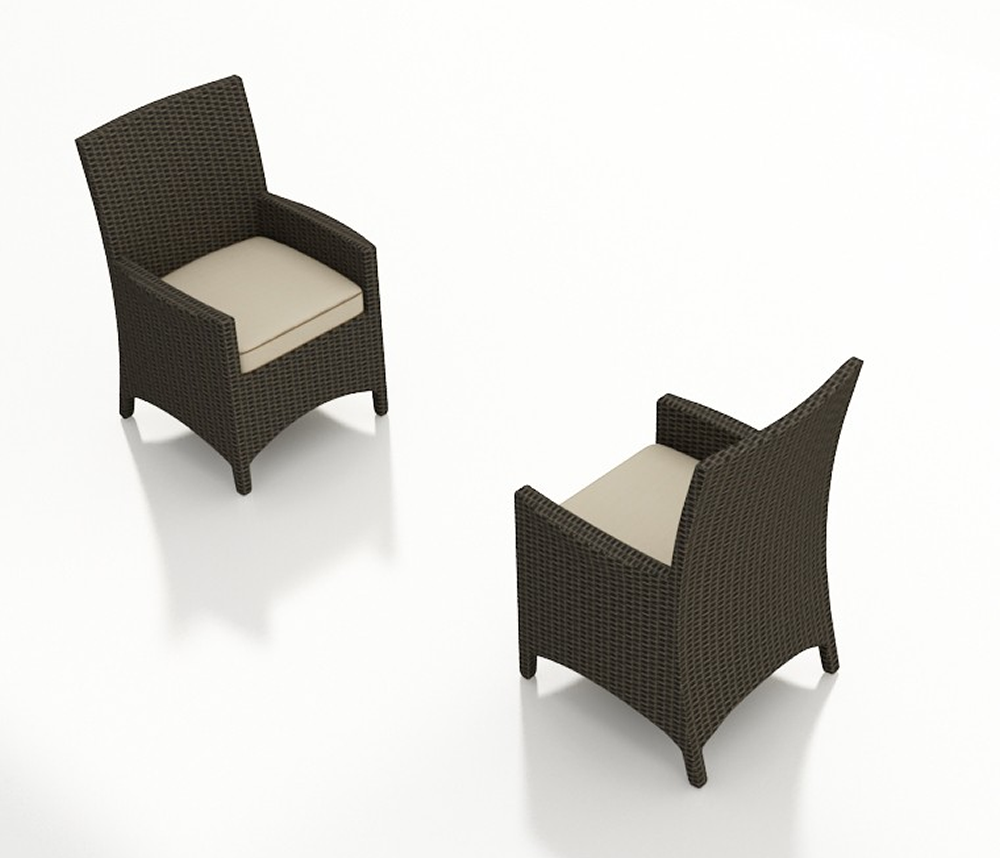Forever Patio Hampton Wicker Dining Arm Chair