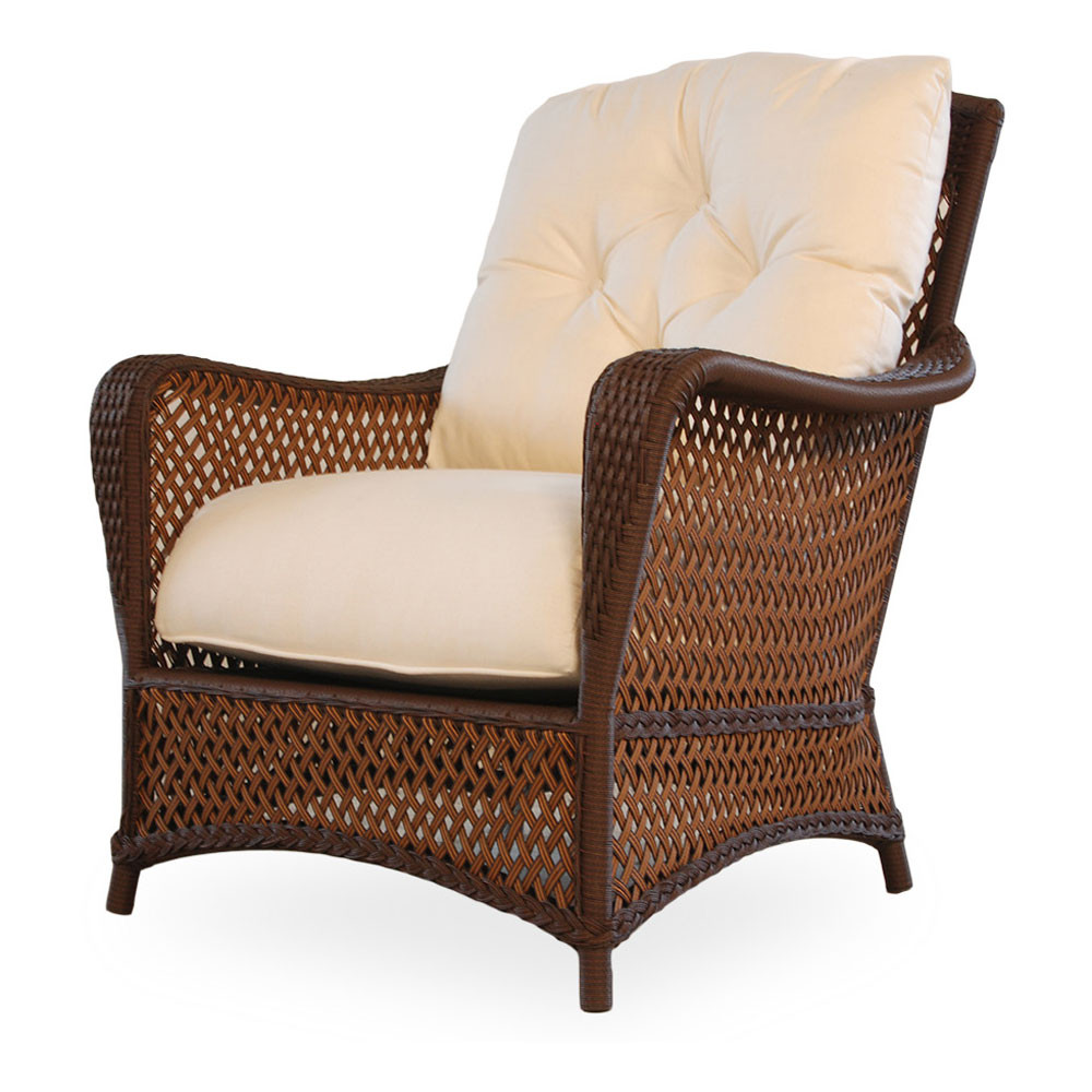 Lloyd flanders grand traverse wicker lounge chair - Replacement cushions for wicker patio furniture ...