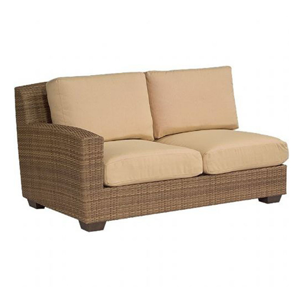 Replacement Cushion Whitecraft By Woodard Saddleback Wicker Love Seat Sectional