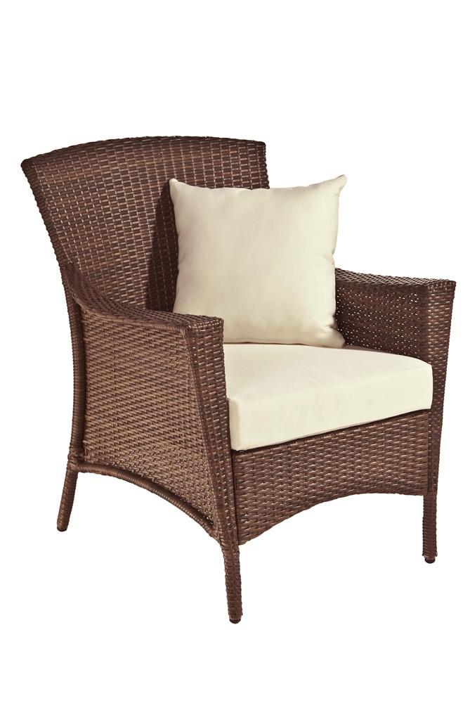 Panama Jack Key Biscayne Wicker Lounge Chair Wicker