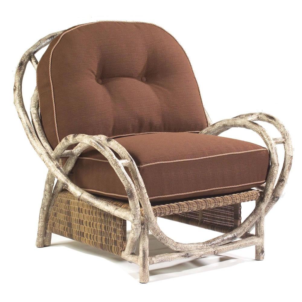 WhiteCraft By Woodard River Run Wicker Lounge Chair